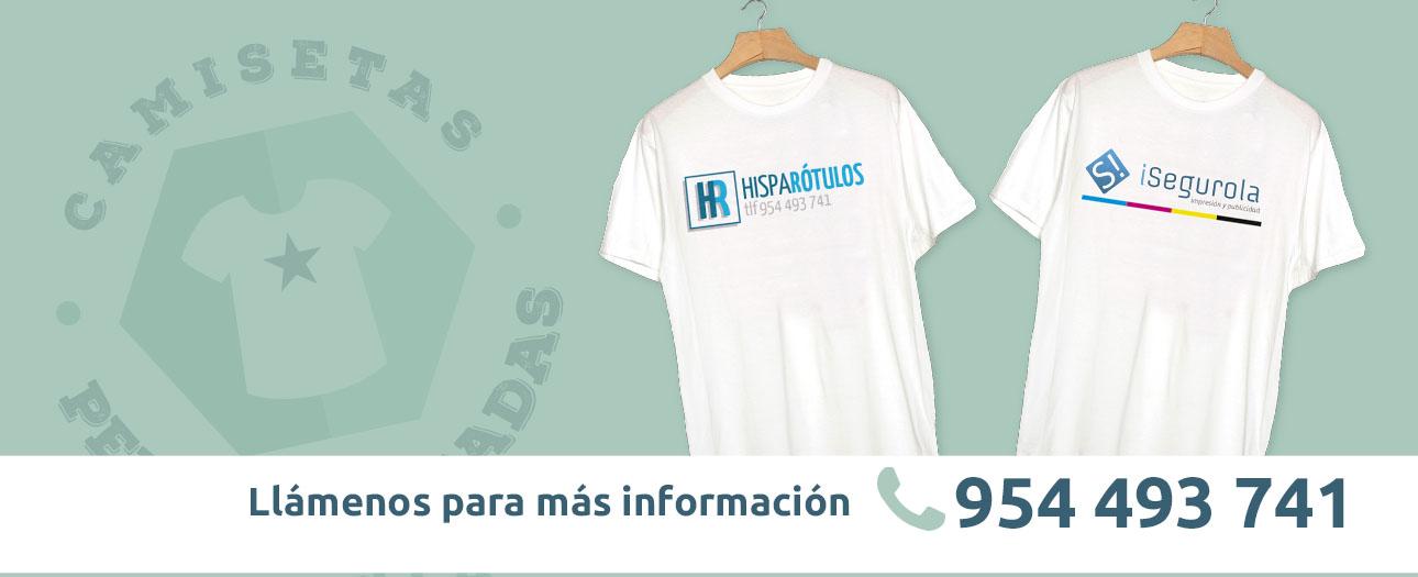 camisetas personalizadas sevilla