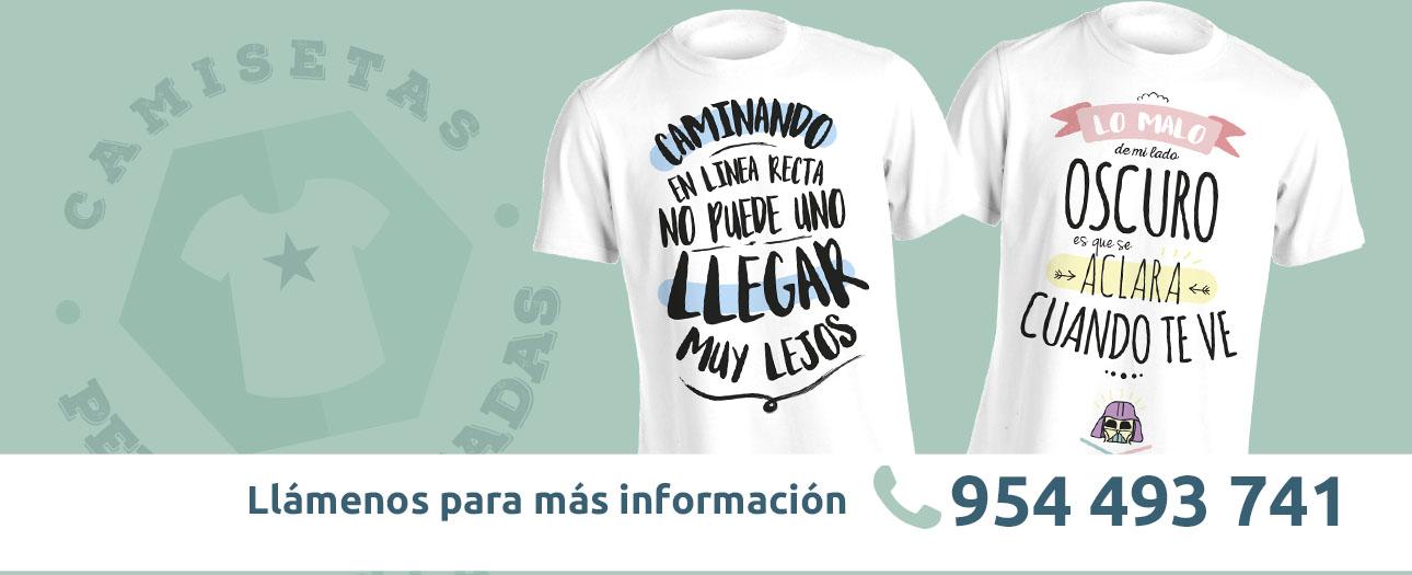 camisetas serigrafiadas en sevilla